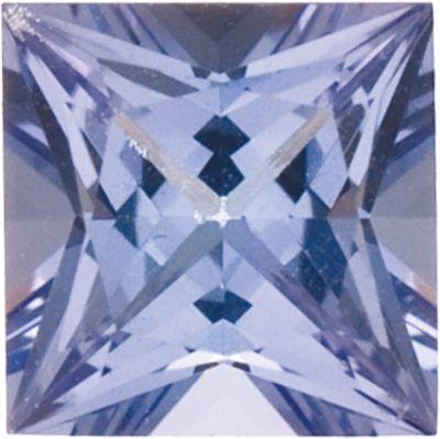 4.5mm Square Princess-cut AA Tanzanite