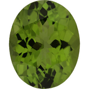 Peridot Oval 5.45 carat Green Photo
