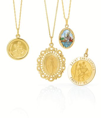 Religious Medals Religious Jewelry Stuller