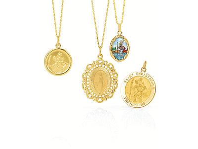 Religious Medals | Religious Jewelry | Stuller