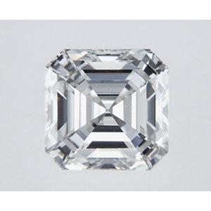 Asscher 0.50 carat H VS2 Photo