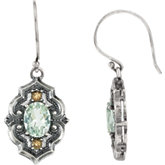 Quartz Victorian Style Earrings or Mounting