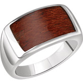 Men's Rectangle Ring