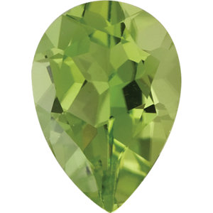 Peridot Pear 2.75 carat Green Photo