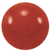 Round Genuine Red Coral