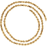 3.9mm Diamond Cut Rope Chain