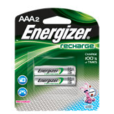 Energizer Pack Of 2 AAA Batteries