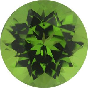 Peridot Round 4.78 carat Green Photo