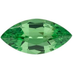 Garnet Marquise 0.23 carat Green Photo