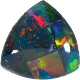 Trillion Lab Created Mosaic Opal