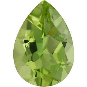 Peridot Pear 0.25 carat Green Photo