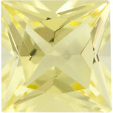 Square Genuine Lemon Quartz