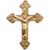 Crucifix Lapel Pin