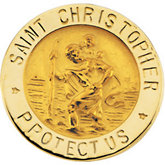 St. Christopher Lapel Pin