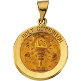 Hollow Holy Communion Medal
