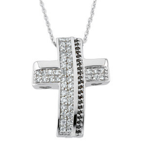 Sterling Silver Beauty from Ashes™ Cubic Zirconia 18