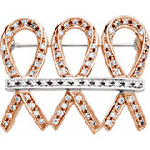 Me and My Two Friends® Diamond Brooch or Mounting