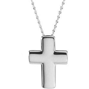 DiamondJewelryNY Sterling Silver Treble Clef Pendant