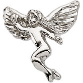 Dancing Angel Lapel Pin