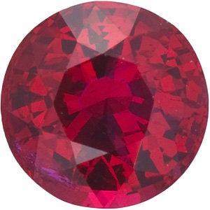 Ruby Round 0.30 carat Red Photo