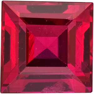 Ruby Square 0.23 carat Red Photo