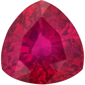 Ruby Trillion 0.60 carat Red Photo