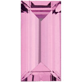 Straight Baguette Genuine Pink Sapphire