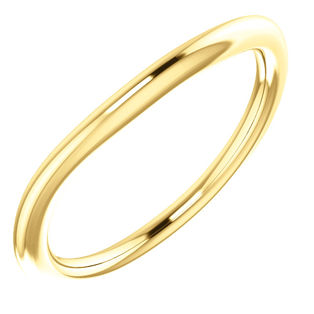 14K Yellow Matching Band