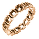 Bezel-Set Eternity Band