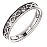 Accented Infinity-Inspired Band