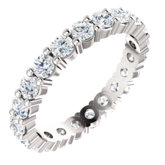 Charles & Colvard Moissanite® Eternity Band
