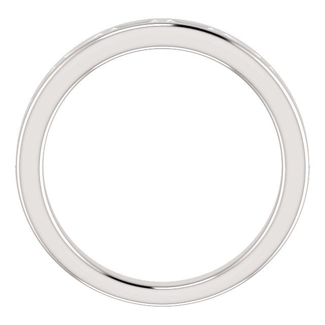 14K White Sapphire Ring