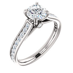 Cathedral Engagement Ring