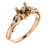 Sculptural-Inspired Engagement Ring or Band