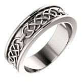 Celtic-Inspired Wedding Band