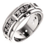 Men's Accented Band