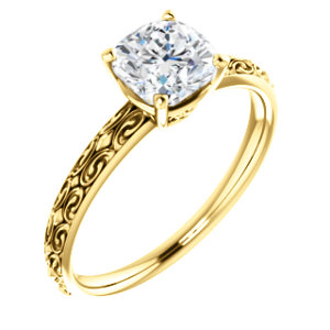 Solitaire Engraved - $521
