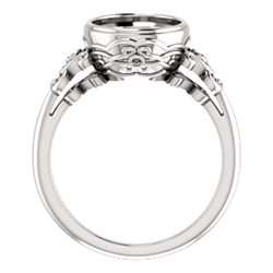 Bezel Set Accented Ring