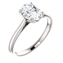 4-Prong Solitaire Engagement Ring