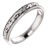 Design-Engraved Wedding Band