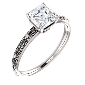 Solitaire Engraved - $524