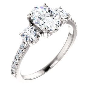 3-stone Classic - $3,314