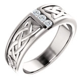 Channel Set Men's Ring