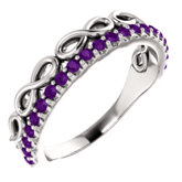 Infinity-Inspired Stackable Ring