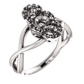 Three-Stone Accented Ring