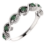 Accented Stackable Ring