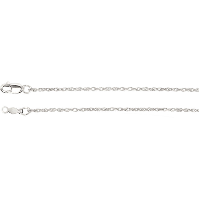 Sterling Silver 1.25mm Rope 16