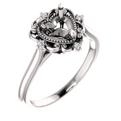 Vintage-Inspired Engagement Ring