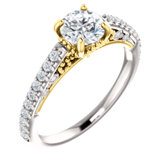 Vintage-Inspired Engagement Ring or Band