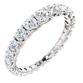 Graduated Eternity Band